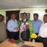 ஷார்ஜாவில் தமிழ்நாடு பண்பாட்டுக்கழக தலைவருக்கு பிரிவு உபசார விழா