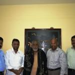 துபாய் ஈமான் அமைப்பின் சார்பில் தமிழக பிரமுகர்களுக்கு வரவேற்பு