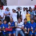 துபாய் ஈமான் அமைப்பு தொழிலாளர்களுக்கு நடத்திய வாலிபால் போட்டி