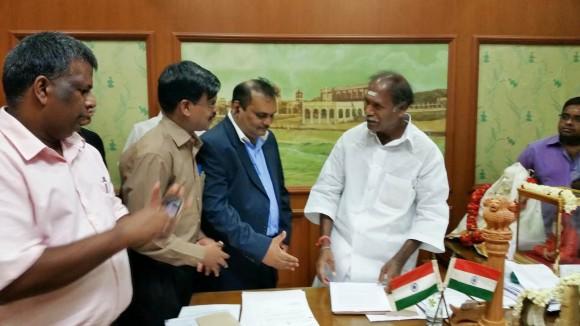 CM Meet Infitt members 2 @ Puducherry 26.06.2014